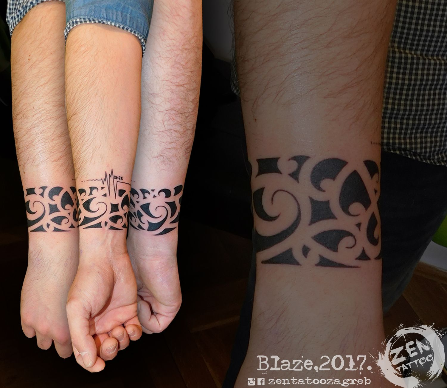 Maori Ring Tattoo: Maori Bracelet; Tattoo By Blaze; Www.facebook.com