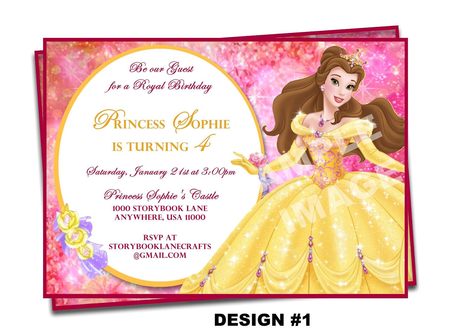 Beauty and the beast invitation belle by storybooklanecrafts 1000 beauty and the beast invitation belle by storybooklanecrafts 1000 filmwisefo Images