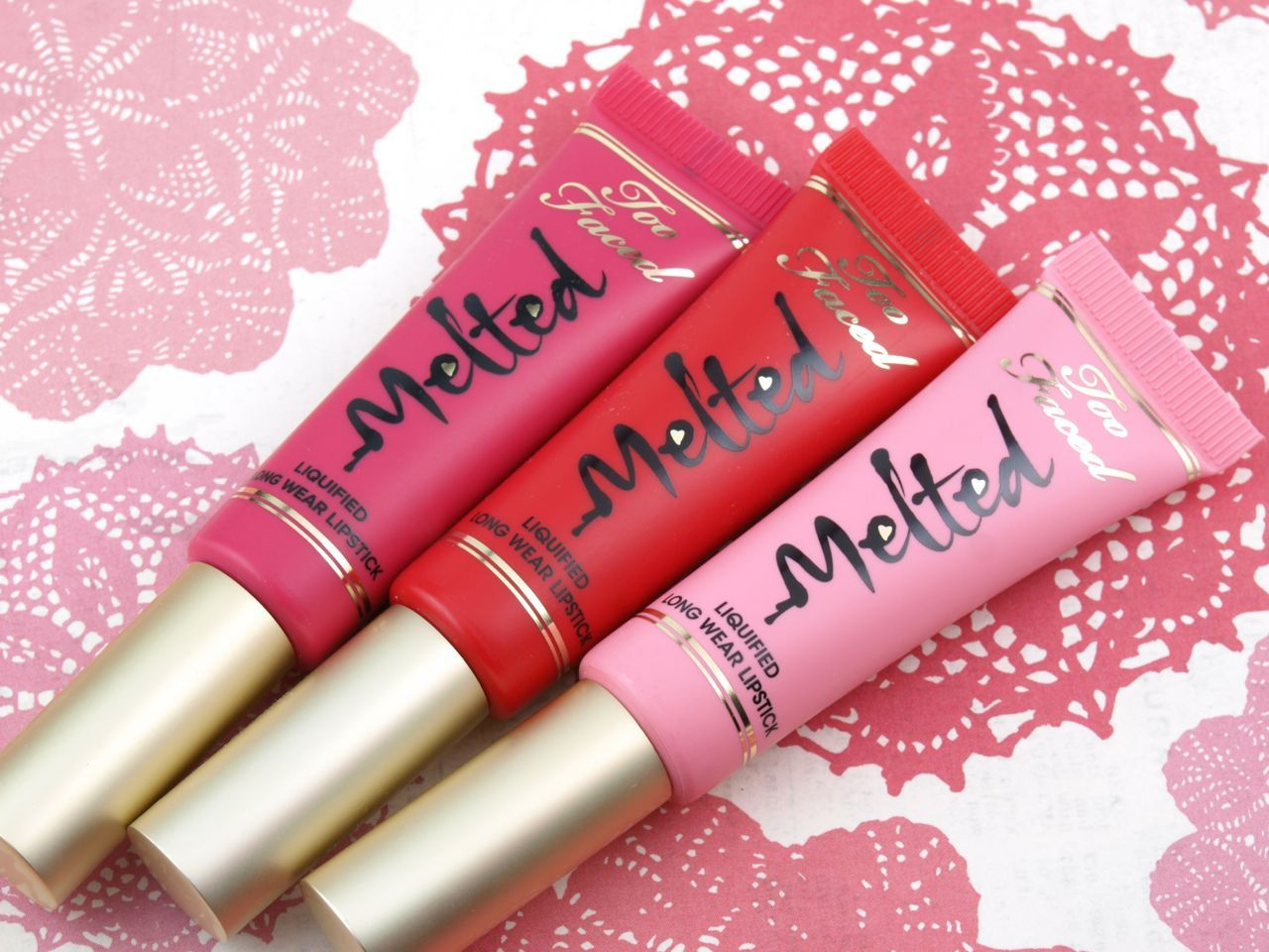 Too Faced Melted Liquified Long Wear Lipstick New Summer