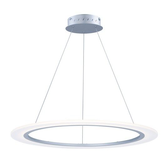 Silver Light Pendants E22654 11ms maxdav cross pinterest popular series entry foyer off saturn ii led matte silver 32 inch pendant by compatible with cl dimmer not included five year limited manufacturer warranty audiocablefo