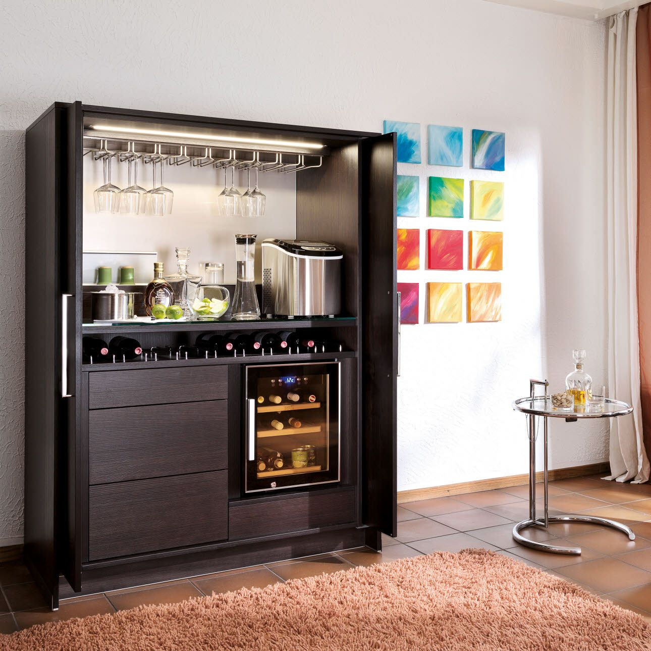 Poggenpohl stage bar dream home pinterest stage for Mueble bar para salon comedor