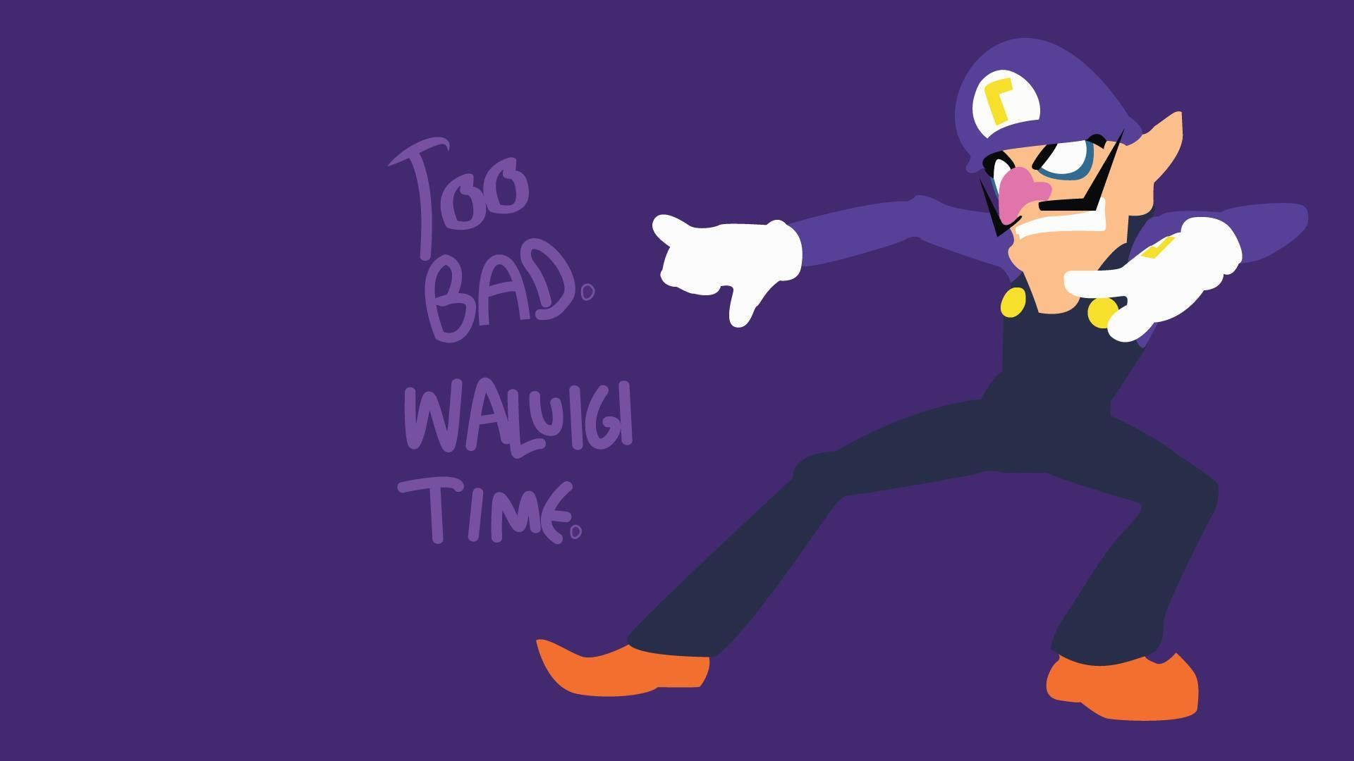 33 Waluigi Time Wallpaper R Wallpaper High Quality Wallpapers