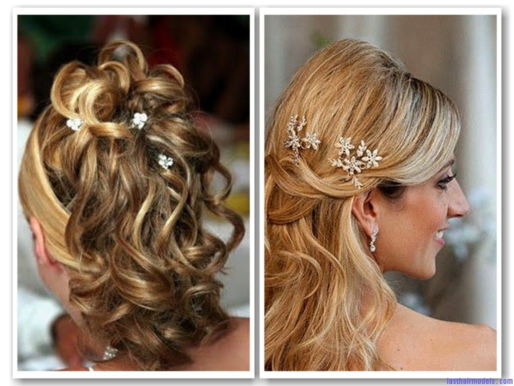 Two different hairstyle of bridal | Brdal Hair Style | Pinterest ...