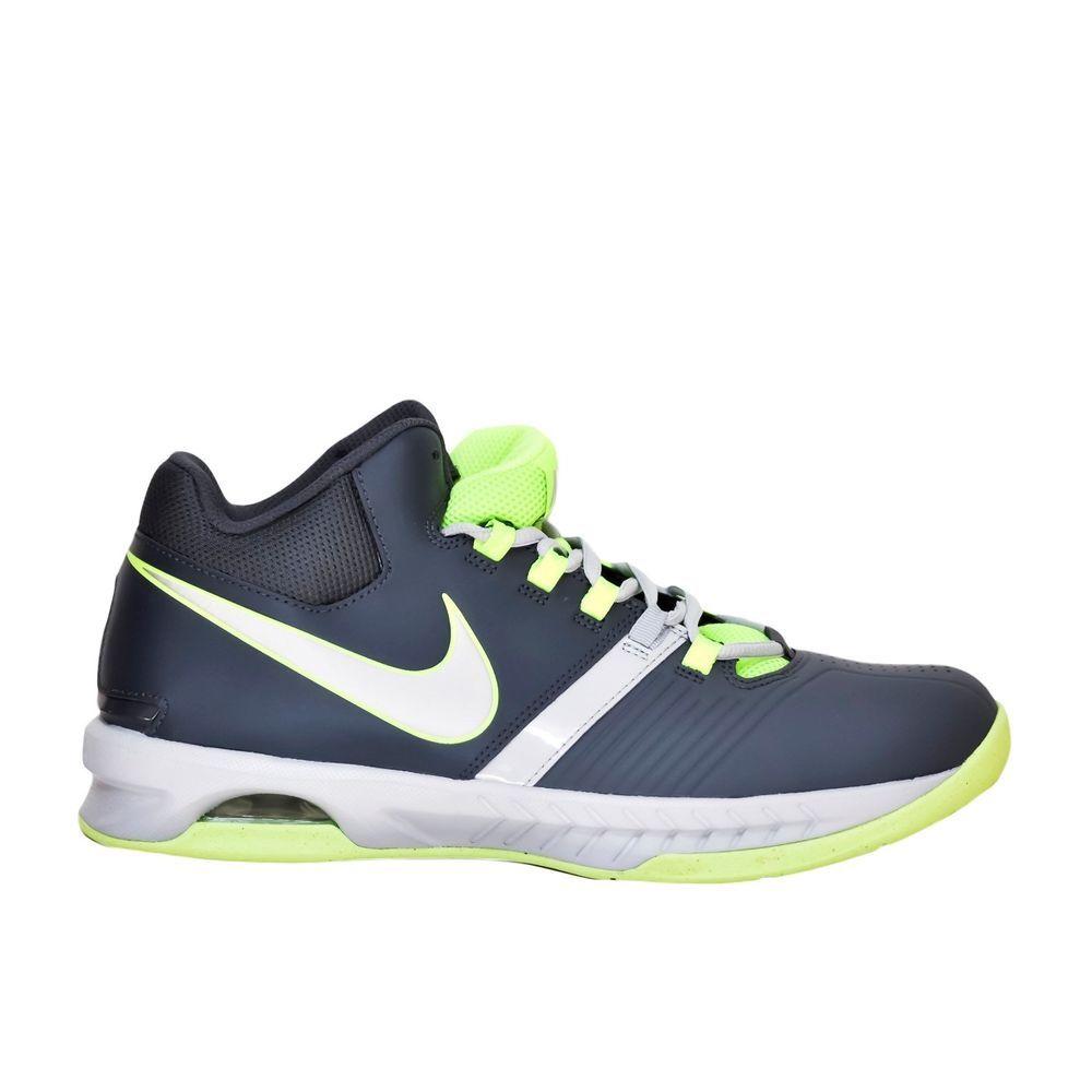 buy popular 79bf9 c6c41 Nike Air Visi Pro V Basketball Shoes Leather Gray Volt Men s size 10.5 D NEW   Nike  BasketballShoes