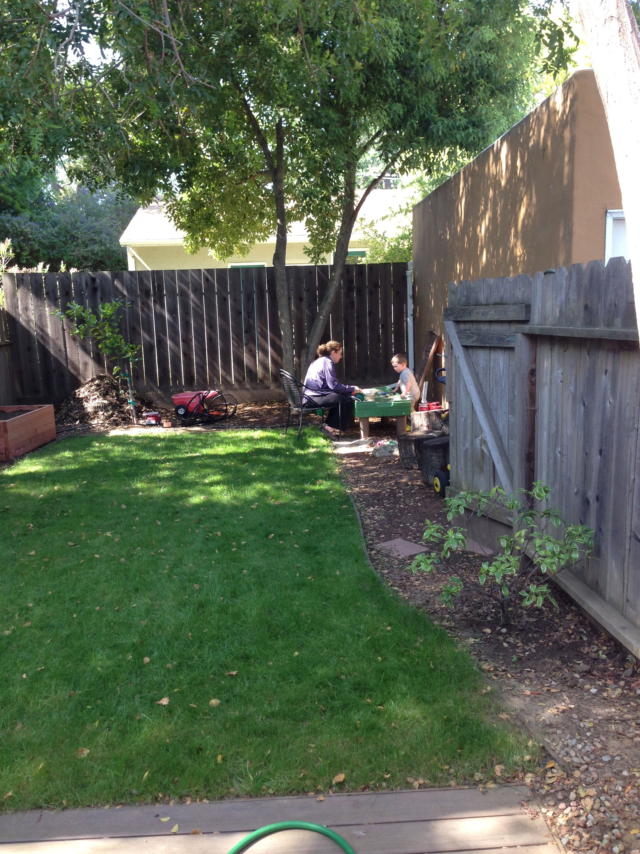 Backyard Sandbox : Backyard sandbox mommy time  Our Nest  Pinterest