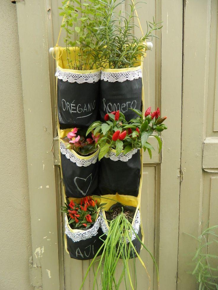 Organizador para plantas arom ticas ideas originales para - Macetas originales para plantas ...