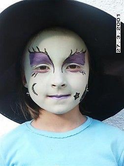 Cute Witch Make Up Autumn Spirit Witch Makeup Halloween Kids