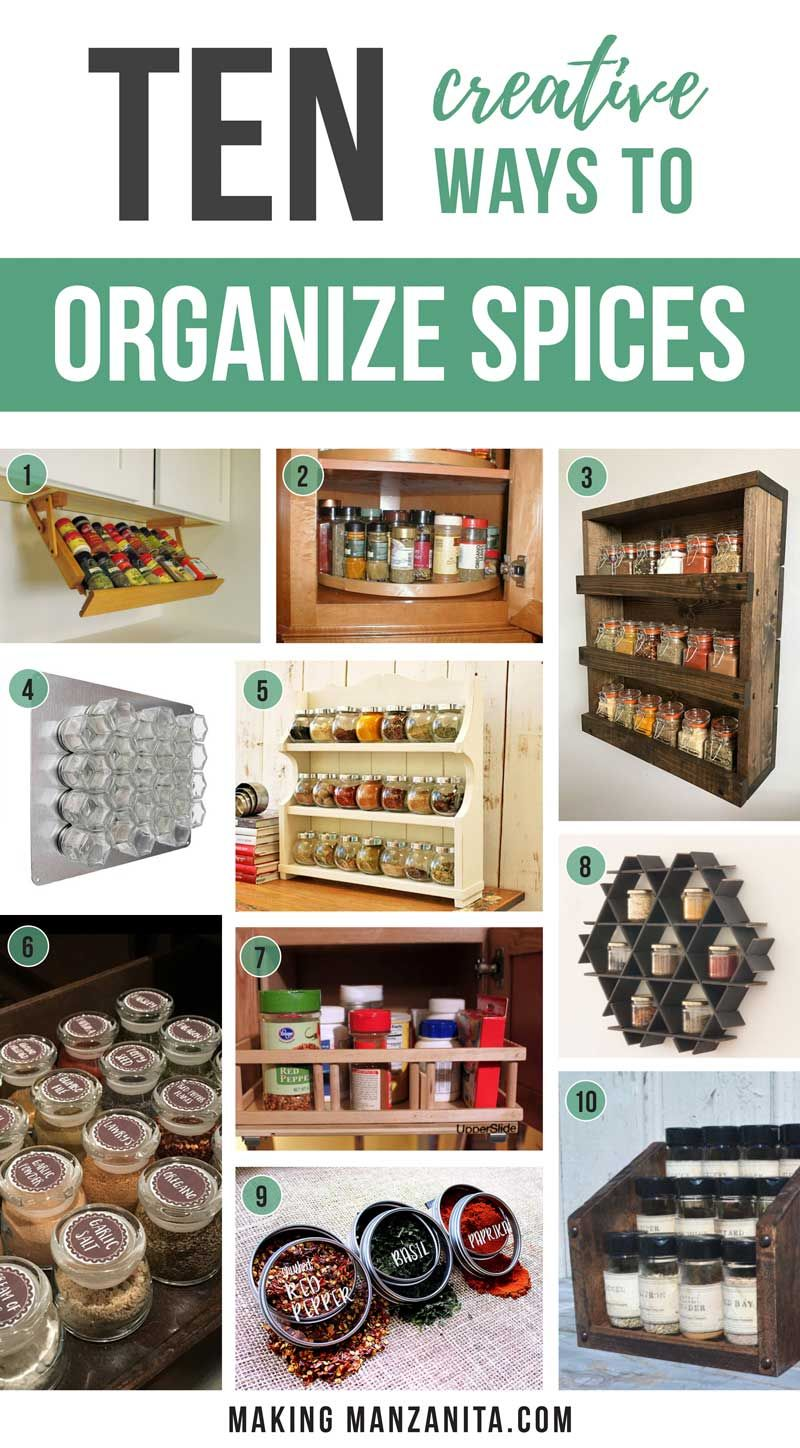 Spice Storage Solutions You Don T Want To Miss Making Manzanita