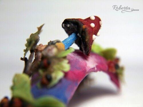 Scultura in acrilico  Tema: il bosco