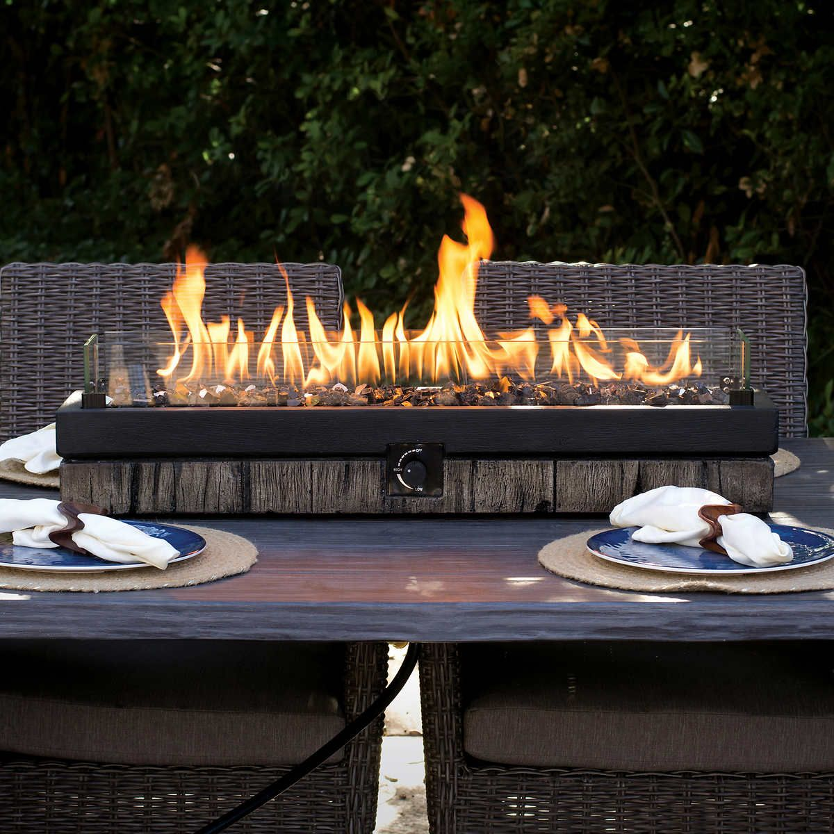 Northwoods Decorative Table Top Fire Fire Pit Patio Diy Table