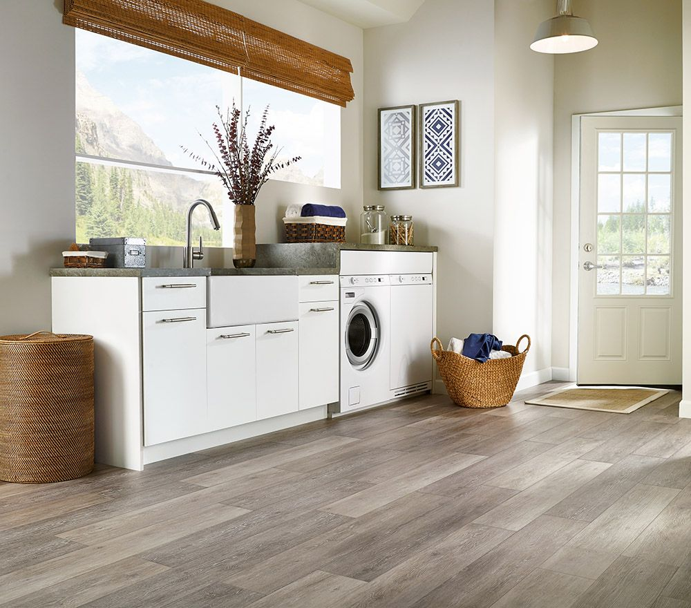 Best Flooring For Basement Laundry Room Kitchen Paint: Armstrong Luxury Vinyl Plank