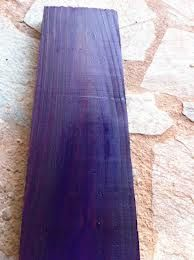 Purple Wood Stain For Larry