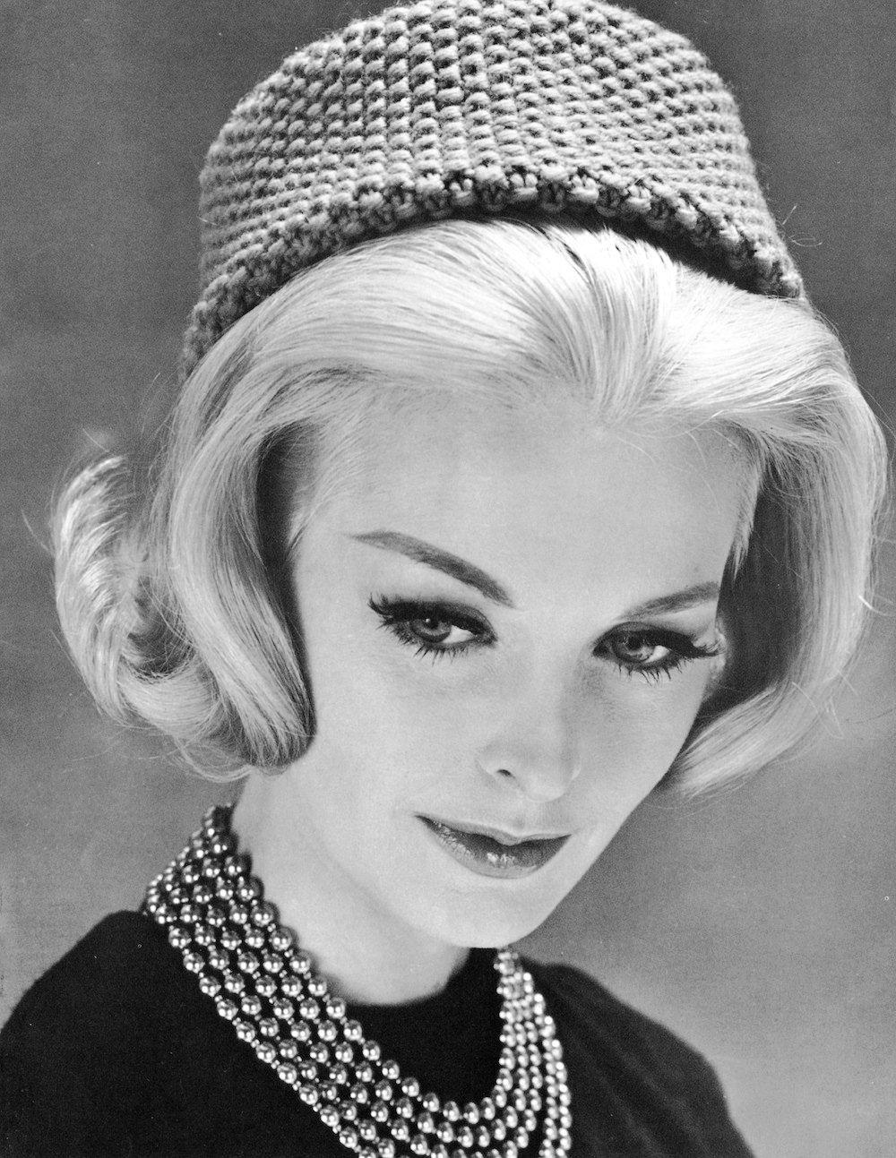 1960s Pill Box Hat Vintage Knitting Pattern PDF | Pill boxes, 1960s ...