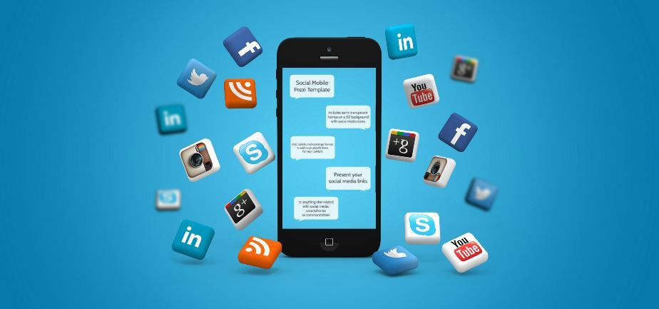 social mobile presentation template sharetemplates presentation
