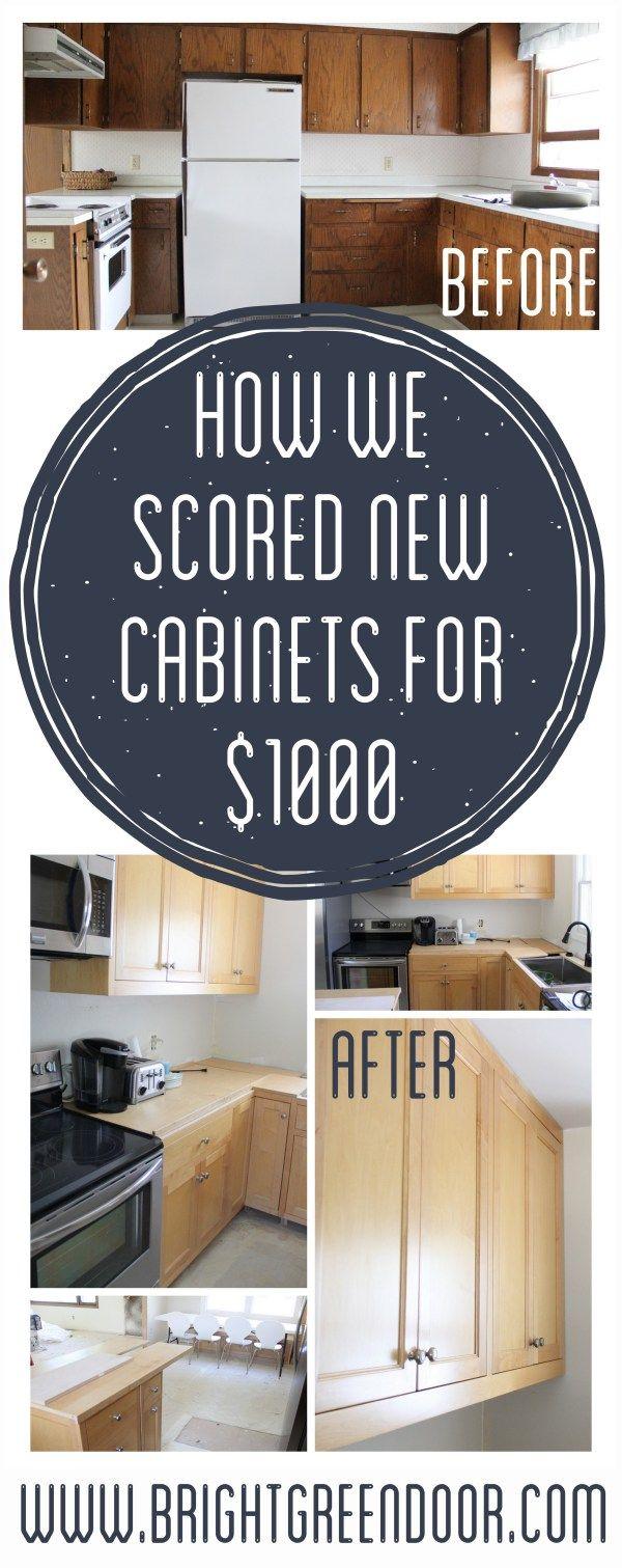Our Craigslist Kitchen Cabinets Kitchen Cabinets Diy Kitchen Projects Custom Kitchen Cabinets