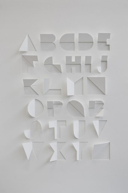 clever papercut type