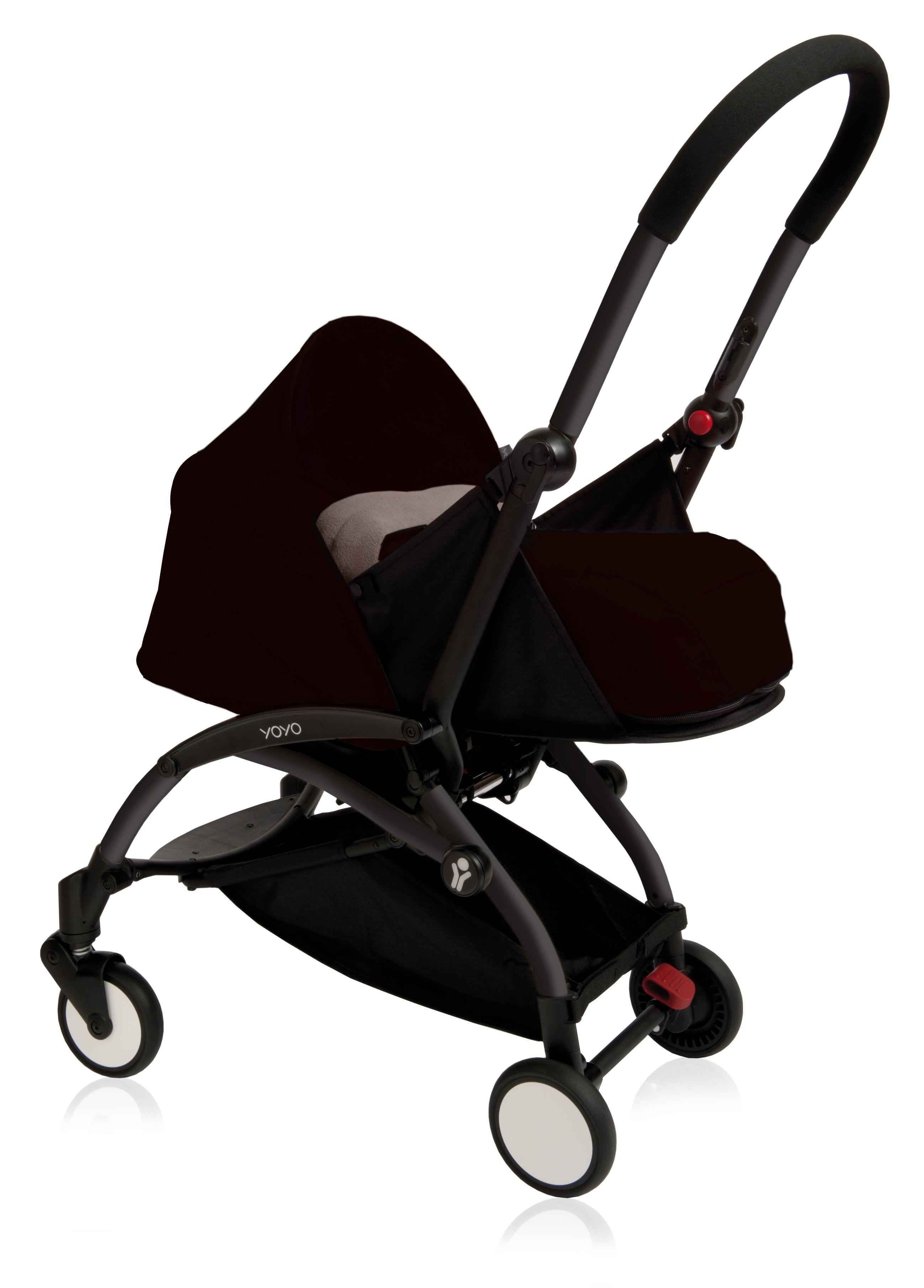 BABYZENYOYO 0+ black Newborn stroller, Babyzen yoyo