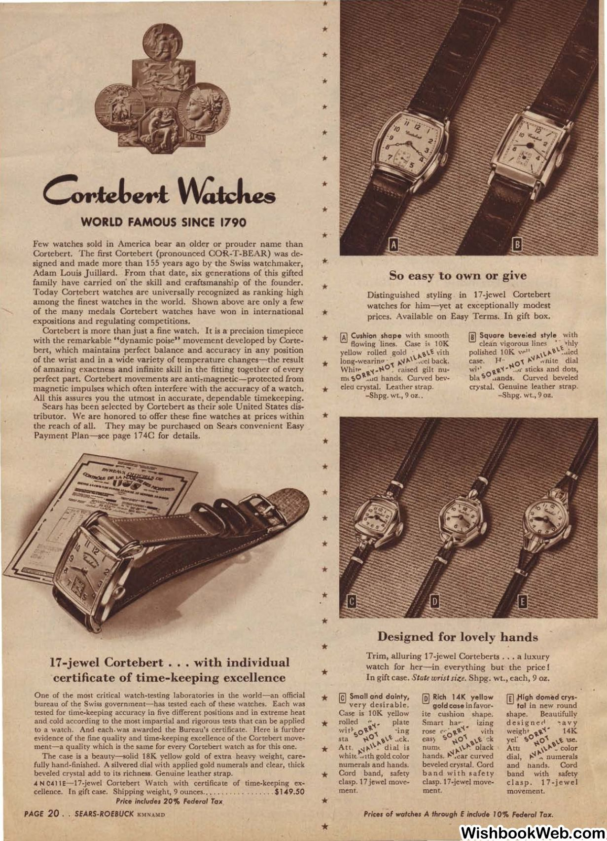 81f6f66b42596 Watches: 1945 Sears Christmas Catalogue | Cat on a Hot Tin Roof ...