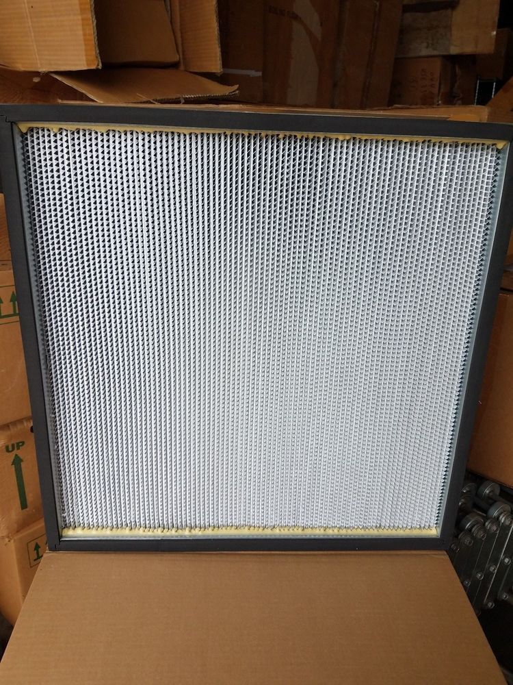 New Koch Air Filtration Biomax Hepa Filter 24 X 24 X 11 5 H66a
