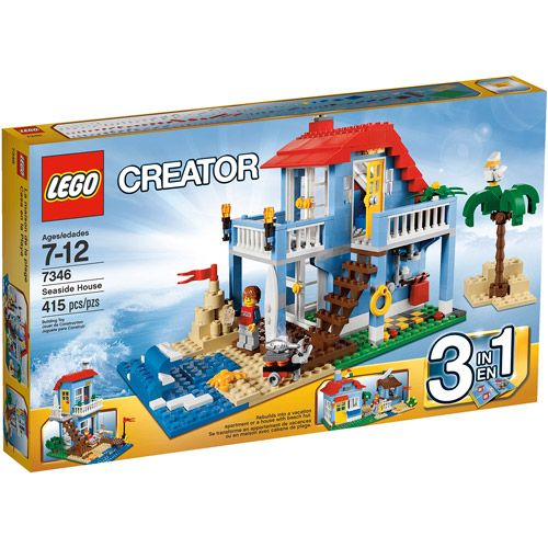 LEGO Creator Seaside House Play Set | Lego creator, Lego and Legos