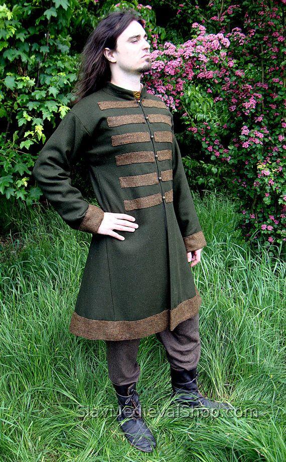 Early Medieval Scandinavian Coat Viking Coat Form Birka Etsy Viking Costume Viking Clothing Viking Garb