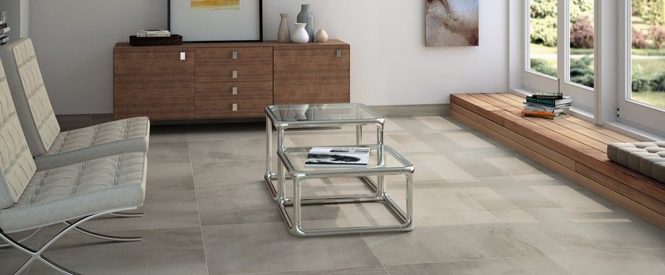 Advance Grey Concrete Effect Floor Tile Home Improvement