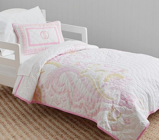 Mallory Butterfly Toddler Bedding | Pottery Barn Kids | Addy\'s Room ...