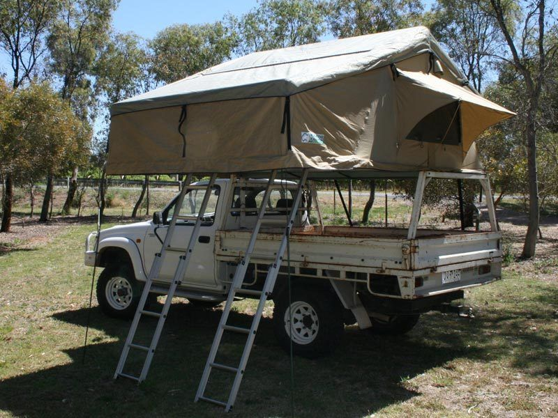 The same outstanding quality as our original roof top tent but with a large zip & The same outstanding quality as our original roof top tent but ...