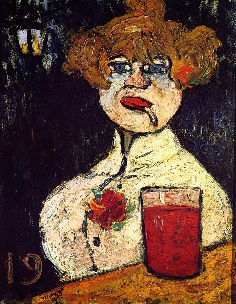At the Bar, Maurice de Vlaminck 1900