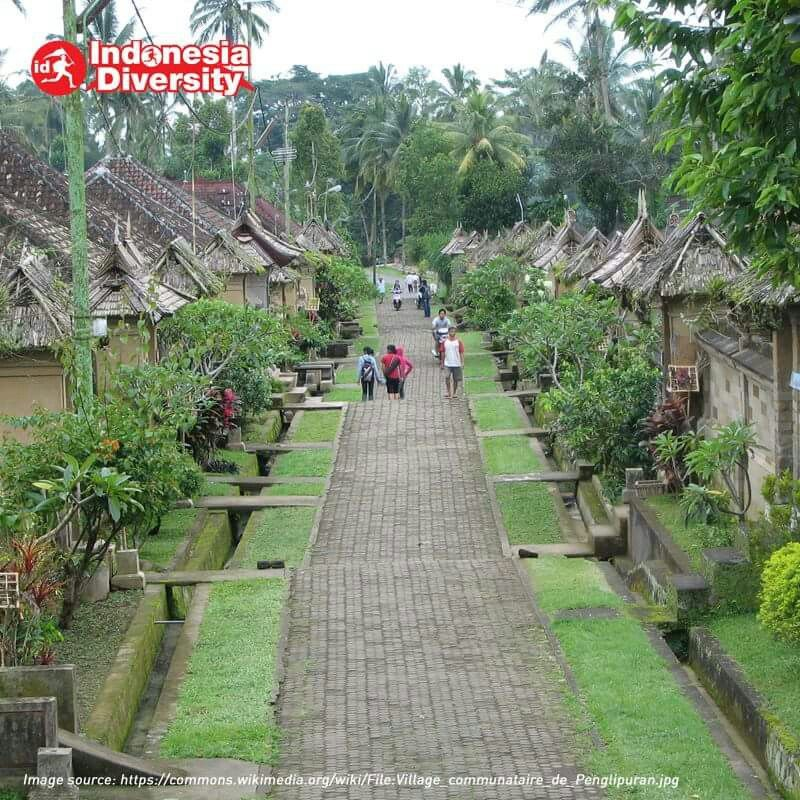 Desa Penglipuran Bali Was Named The Best In The World