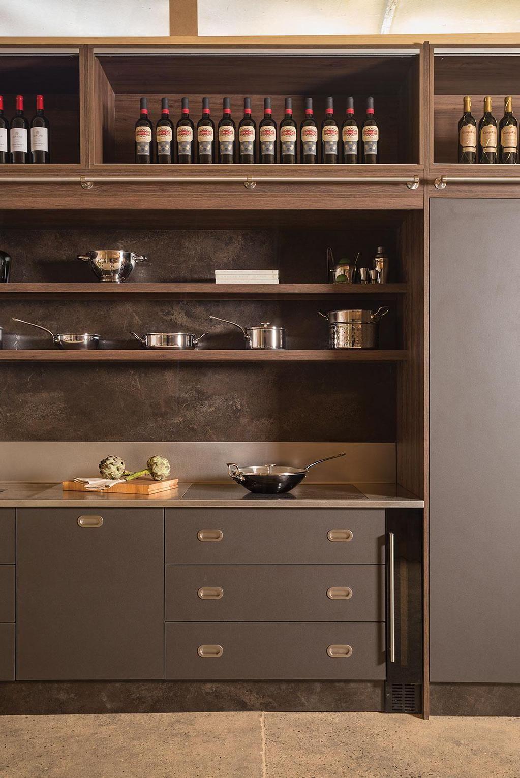 Studio CK on Freestanding kitchen, Kitchen display
