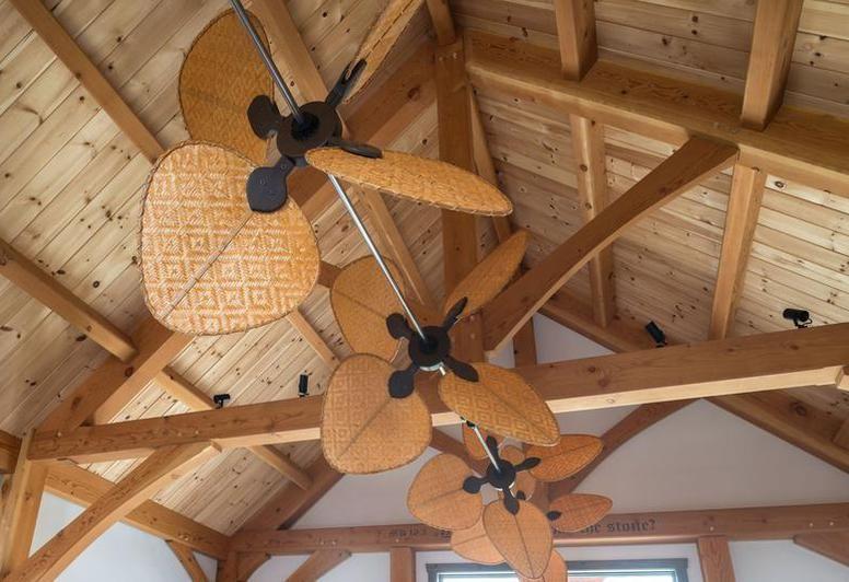 Paddle Fan System Ceiling Fan Diy Tropical Ceiling Fans
