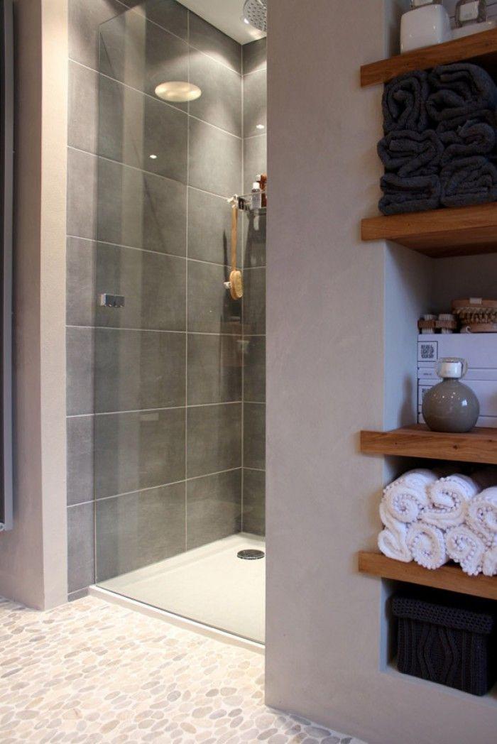 Inloopdouche met glazen deur   Bathroom / Badkamer   Pinterest ...