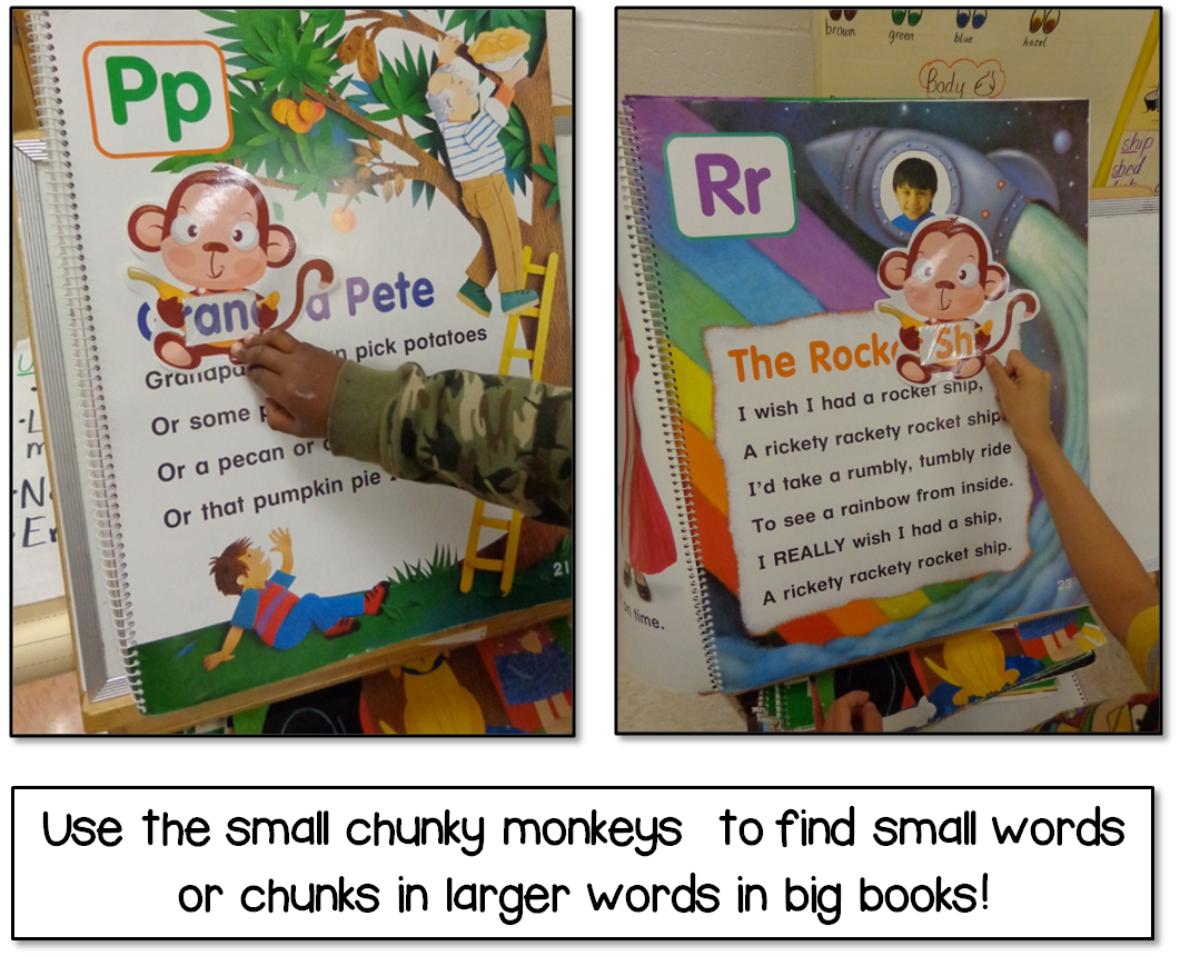 Chunky Monkey Reading Strategy Lesson Plan Center