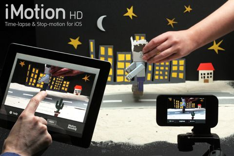iMotion HD great app for making stop motion movies. You