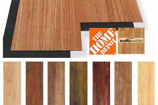 Allure Vinyl Flooring, Vinyl Laminate Flooring Home Depot
