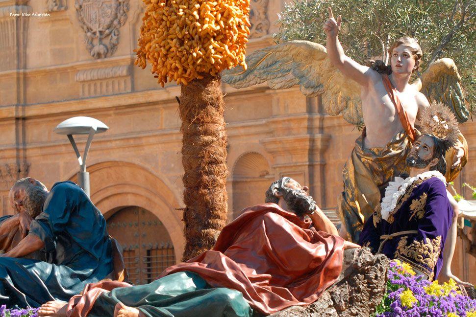 La Oración En El Huerto Viernes Santo Francisco Salzillo Murcia Huerto De Los Olivos Huerto Murcia