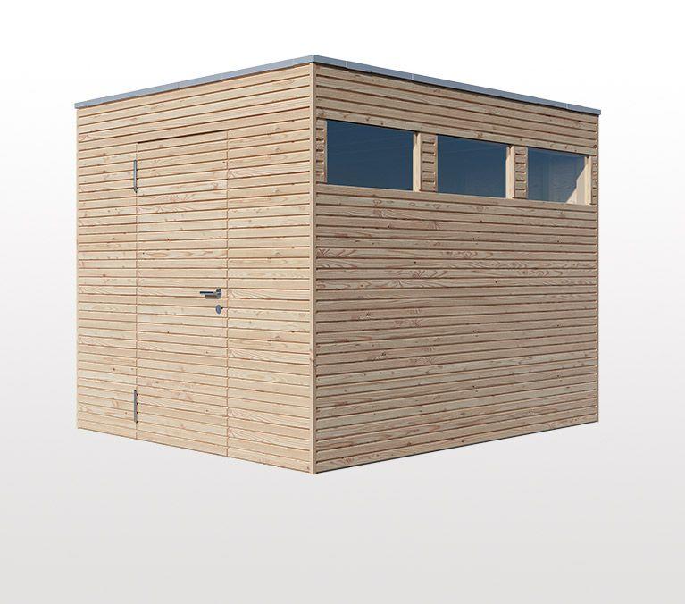 Gartenhaus Woody, Konfigurator, Gartenhaus