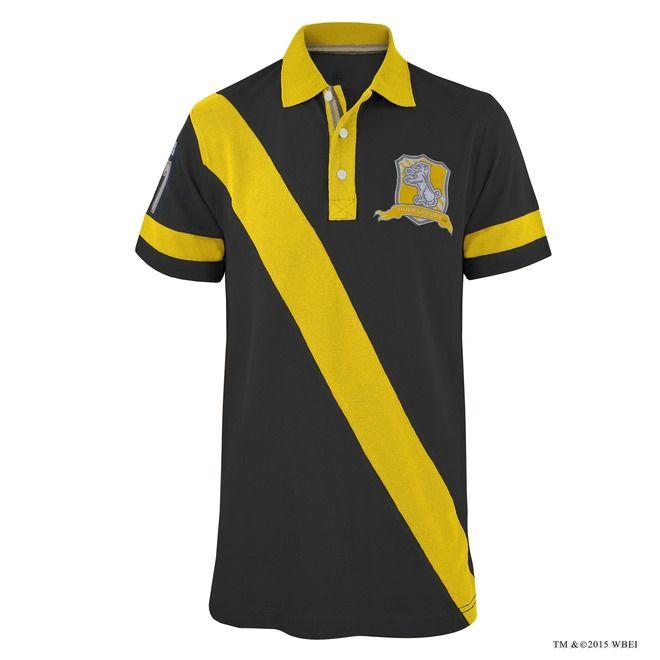 ShirtHufflepuff Stripe Cross Quidditch Polo Striped Hufflepuff™ N0Owyvm8n