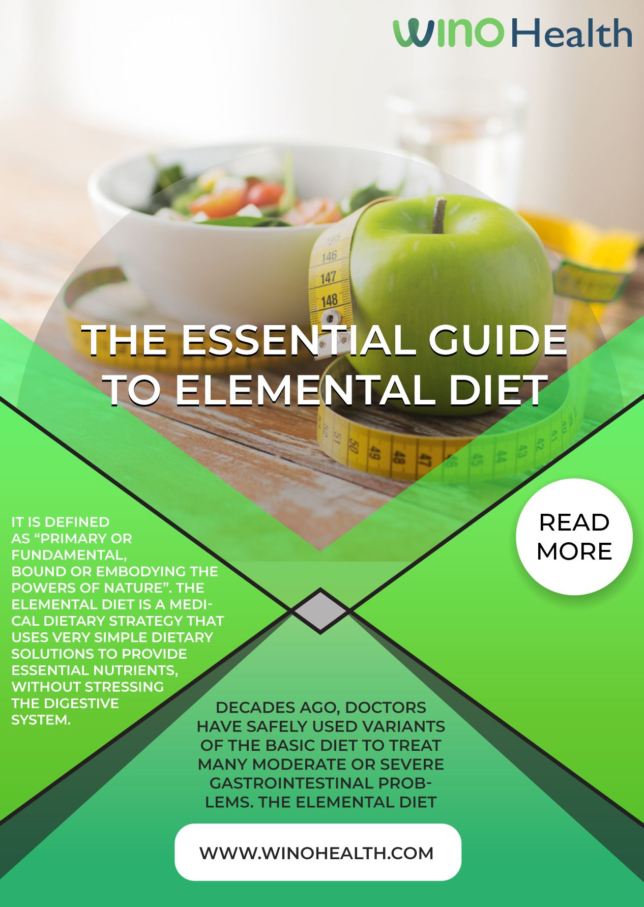 """The Essential Guide To Elemental Diet It is defined as """"primary or fundamental, bound or embodying the powers of nature""""."""