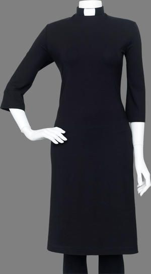 a20edf65b1ea Love this clerical dress! (I wear clericals for hospital visits,  community/public events where I want to be visibly clergy, weddings, and  funerals.
