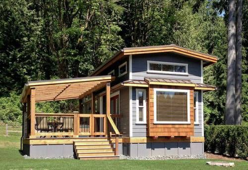45 Great Manufactured Home Porch Designs | Cabin Stuff