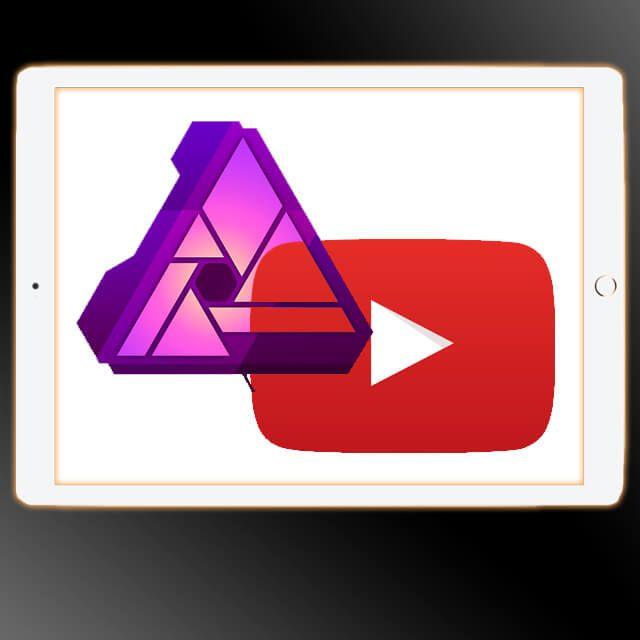 Affinity Photo iPad App Video Tutorials auf Deutsch