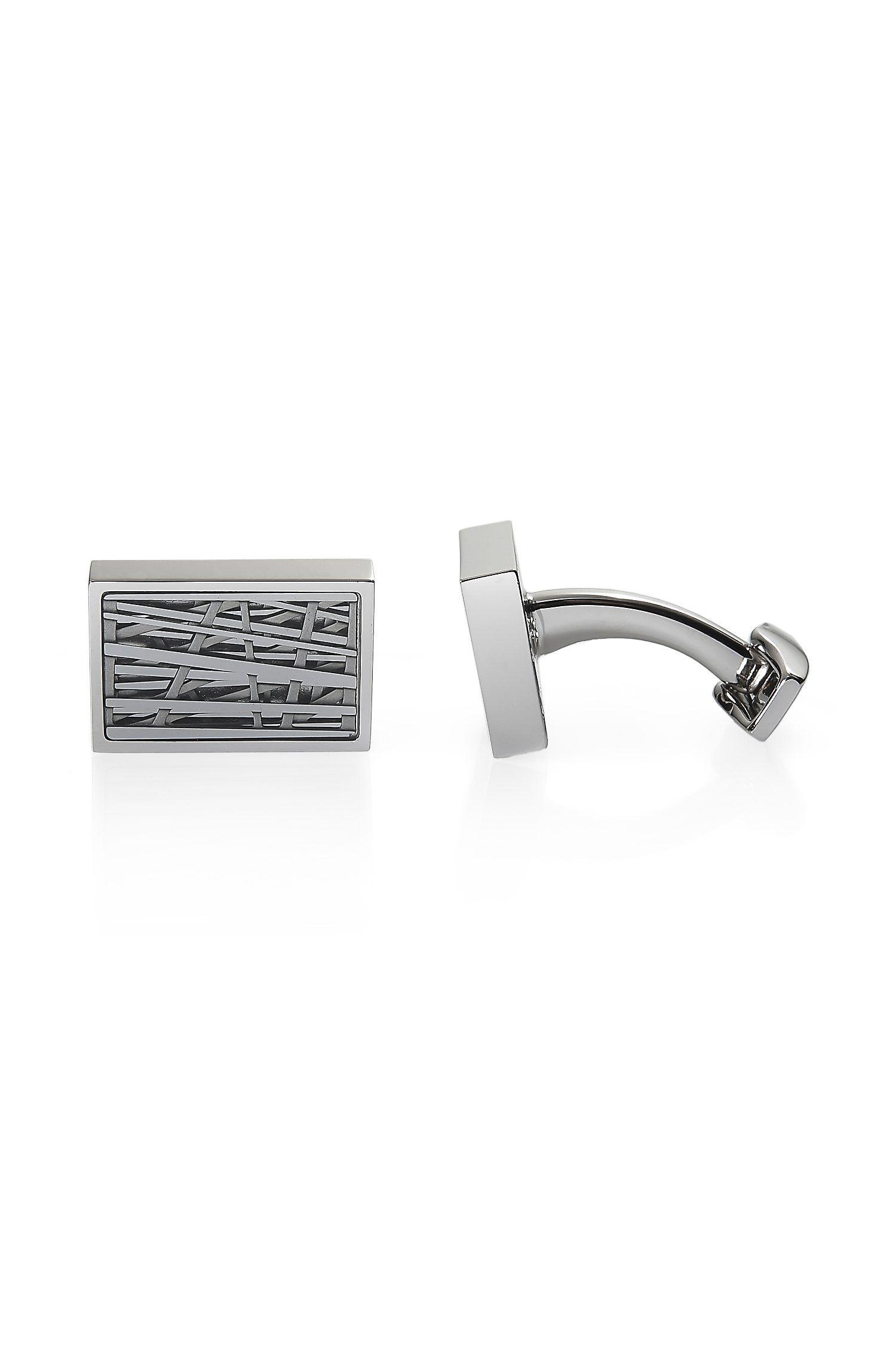 Asymmetrical-Design 'Henrick' Cufflinks by BOSS Black