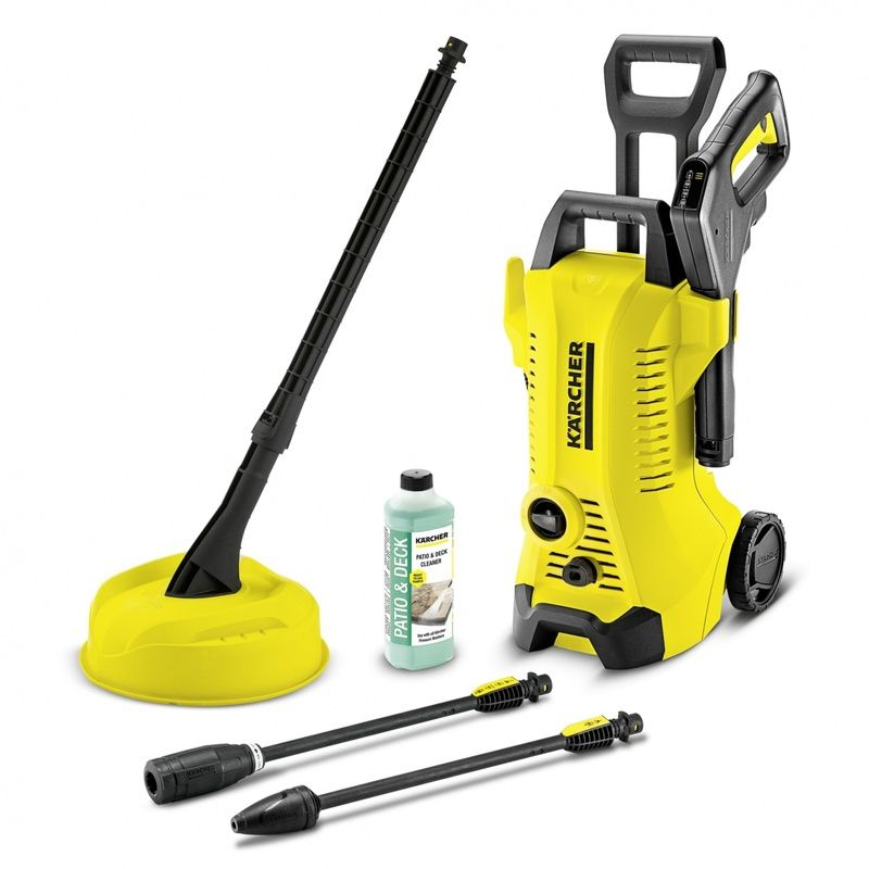 Masina De Spalat Cu Presiune Karcher K 3 Full Control Home T150 120bar 1600w Pressure Washer Outdoor Cleaning House Cleaning Services