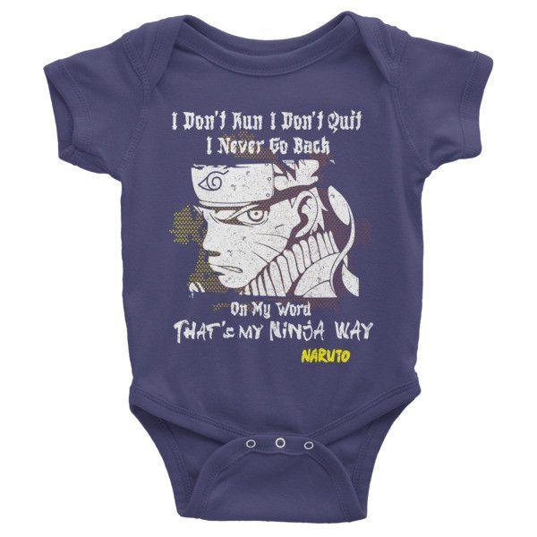 Naruto Uzumaki Ninjaway Infant short sleeve one-piece Shirt - PF00265BO