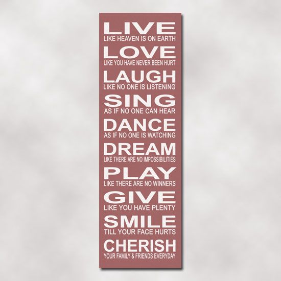 Live, laugh, love, etc. | Words, Love words, Perfection quotes