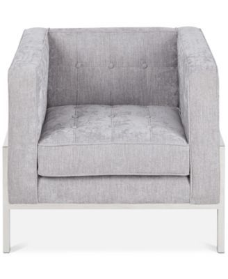 Jarvis Accent Chair, Quick Ship - Gray