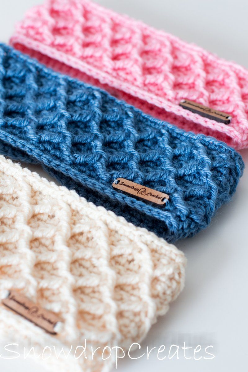 Amazing easy crochet headband FREE pattern! Make this for your next vendor event! #crochetheadbandpattern