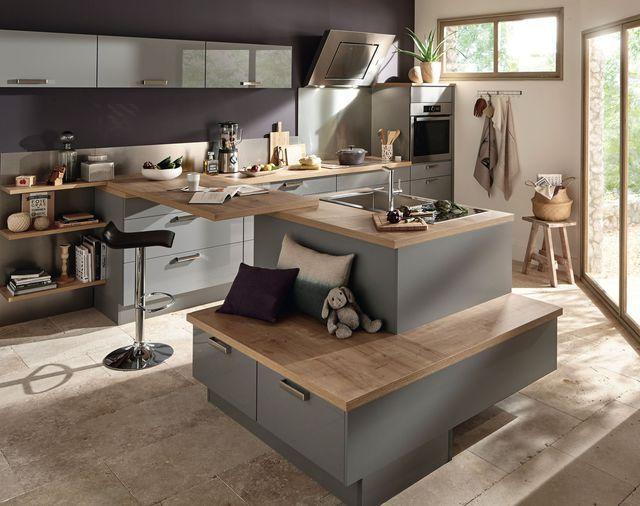Cuisine ouverte  16 modèles de cuisiniste Architecture, Kitchens - Conforama Tables De Cuisine